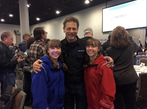 Martin Buser - from Switzerland. He's won the Iditarod 4 times and completed the race 28 times!