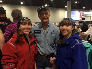 Mitch Seavey - from Minnesota and a two-time  winner of the Iditarod. The Seavey family is a very well known mushing family.